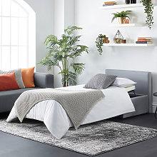 Footstool Sofa Bed - Foldaway Single Guest Bed