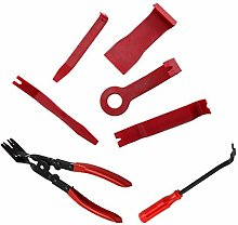 for 7PCS Red Car Door Upholstery Trim Clip Removal