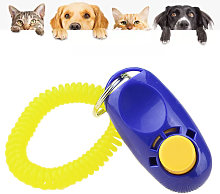 For dogs, clicker for training and education of