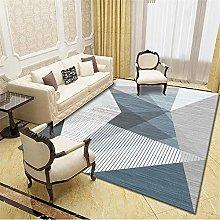 for living room sale Blue Gray Carpet Geometric