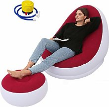 Forart Inflatable Ultra Sofa Bed with Ottoman,