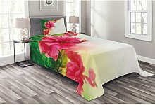 Forde Floral Bedspread Set with Cushion Cover