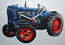 Fordson Tractor Clock - WT8