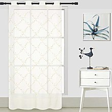 ForenTex Embroidered Curtains (FF0582) Translucent