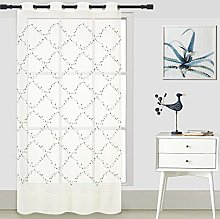 ForenTex Embroidered Curtains (O0582) Translucent