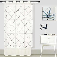 ForenTex Embroidered Curtains (Q0582) Translucent