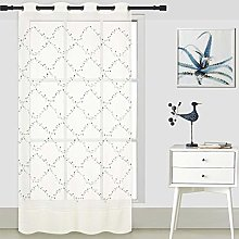 ForenTex Embroidered Curtains (Y0582) Translucent