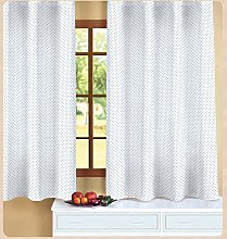 ForenTex Plumeti Curtains Pink Curtain for Kitchen