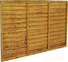 Forest 4ft (1.22m) Trade Lap Fence Panel - Pack of