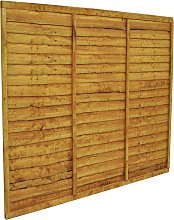 Forest 5ft (1.52m) Trade Lap Fence Panel - Pack of