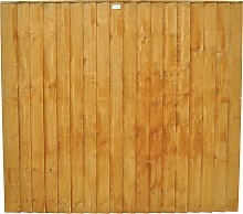 Forest 5ft (1.54m) Featheredge Fence Panel - Pack