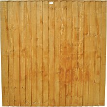 Forest 6ft (1.85m) Featheredge Fence Panel - Pack