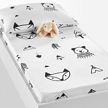 Forest Camp Baby's Fitted Sheet by La Redoute