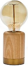 Forest Table Lamp With Vintage Bulb