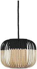 Forestier - Small Black Bamboo Light Pendant