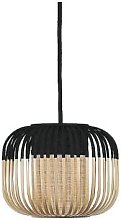 Forestier - Small Black Bamboo Light Pendant