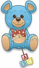 Forever Bespoke Baby Boy Blue Teddy Bear Silent