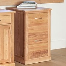 Fornatic Wooden Filing Cabinet In Mobel Oak With 2