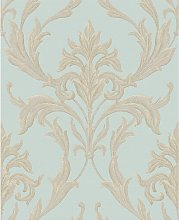 Forth 10m L x 64cm W Damask Roll Wallpaper Astoria
