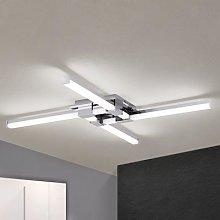 Four-bulb Argo LED bathroom ceiling light