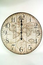 Four Seasons- Extra Large Wall Clock Vintage style