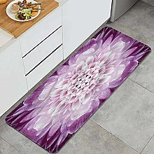 FOURFOOL Kitchen Rugs,Chrysanthemum