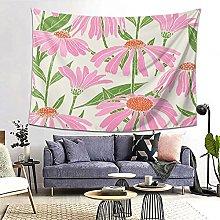 FOURFOOL Wall Hanging Tapestry,Botanical Pattern