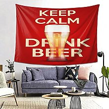 FOURFOOL Wall Hanging Tapestry,Brown Lager Of Keep