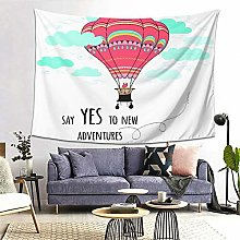 FOURFOOL Wall Hanging Tapestry,Card With