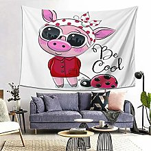 FOURFOOL Wall Hanging Tapestry,Cool Cartoon Cute