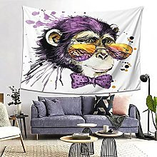 FOURFOOL Wall Hanging Tapestry,Cool Monkey