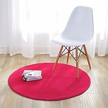Fouriding Round Circular Area Rugs Solid Carpets