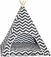 Fovely Pet Teepee Dog Cat Rabbit Bed Portable