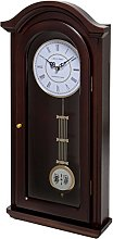 Fox and Simpson Burnley Walnut Pendulum Clock with