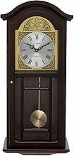 Fox and Simpson Mahogany Coloured Wood Pendulum