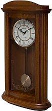 Fox and Simpson Mayfair Oak Pendulum Clock with