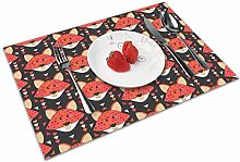Fox Insulation Heat Resistant Table Mats Easy To