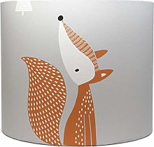 Fox Lampshade for Ceiling Light Shade Grey Peyote