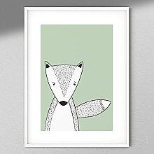 Fox Print - Wall Art | Child Room | Kids Room