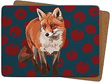 Fox Table Mat by Leslie Gerry - Placema