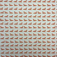 Foxes Cotton Rich Linen Look Fabric for Curtains