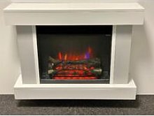 Foxley Electric Fireplace Fire Heater Heating Real