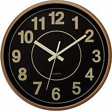 Foxtop Luminous Wall Clock 12 inch Silent