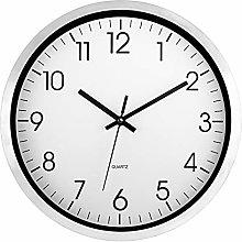Foxtop Metal Wall Clock, Silent Non-ticking 12