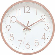 Foxtop Modern Silent Wall Clock for Home Large