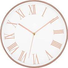 Foxtop Modern Wall Clock 30 cm Silent Non-Ticking