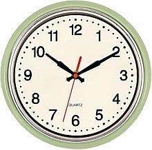 Foxtop Retro Kitchen Wall Clock 9.5 Inch 50's