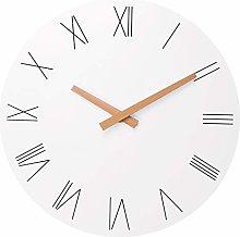 Foxtop Round Stylish Modern Wall Clock Roman