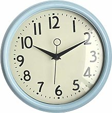 Foxtop Silent Retro Wall Clock Non-Ticking Sweep