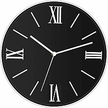 Foxtop Silent Wall Clock Non-Ticking Quality